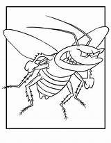 Coloring Bug Pages Bugs Insect Colouring Printable Cartoon Insects Flying Bunny Angry Cockroach Jr Animal Template Topcoloringpages Lightning Activities Dragonfly sketch template