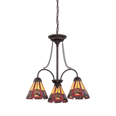 shop allen roth ascension ridge 3 light antique bronze
