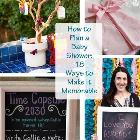 how to plan a baby shower how to plan a baby shower 18 ways to make it memorable
