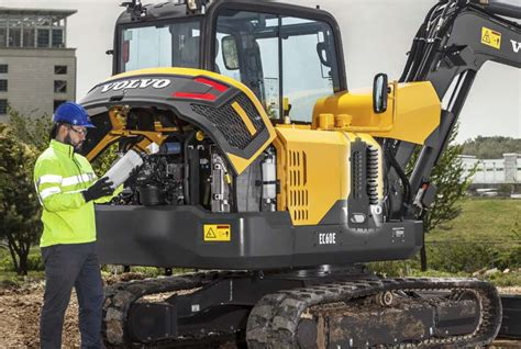 volvo ce intros ece excavator  big  small jobs