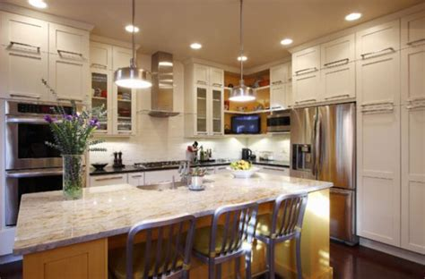 l shaped kitchens with island 6 of the most popular oven arrangements for the kitchen