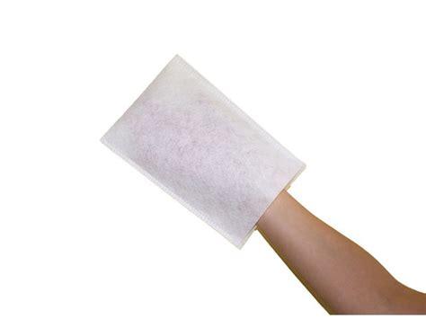 gant de toilette jetable contact interpack