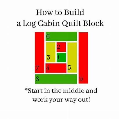 Cabin Quilt Log Easy Tutorial Christmas Block