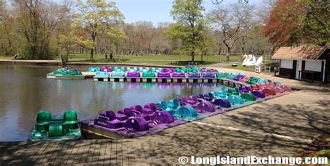 Paddle Boat Rentals On Long Island by Belmont Lake State Park