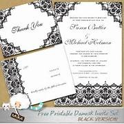 Wedding Invitation Template 2 Wedding Stationery Printable Wedding Invitations Printable Wedding Wedding Download This FREE Wedding Invitation Template And Print Out MERRY BRIDES DIY Free Printable Chevron Wedding Invitations