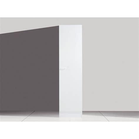 panneau armoire cuisine armoire colonne en panneau de particule coloris blanc