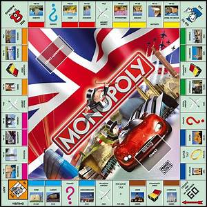 Monopoly Uk Edition - Board Games Photo  291442