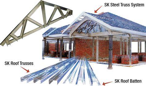 light gauge steel truss system nikkata metal roofing industries sdn bhd