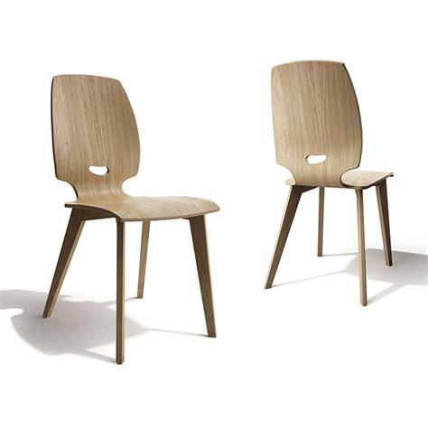 chaise en bois design chaise de salle à manger design en bois finn mobilier