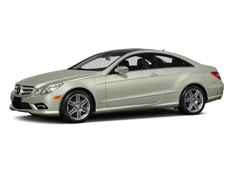 People say that summertime is the best time to drive a convertible, and they would be right. 2013 Mercedes-Benz E-Class Coupe 2D E550 Prices, Values & E-Class Coupe 2D E550 Price Specs ...
