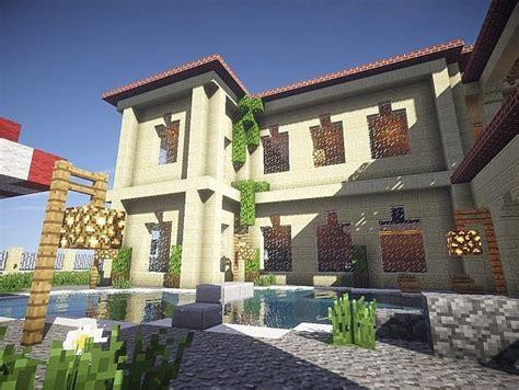 California Mansion  Minecraft House Design