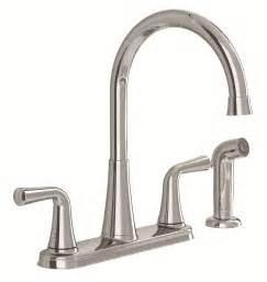 delta touch kitchen faucet american standard 9089501 002 angeline two handle kitchen