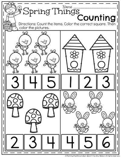 spring preschool worksheets pre k preschool worksheets