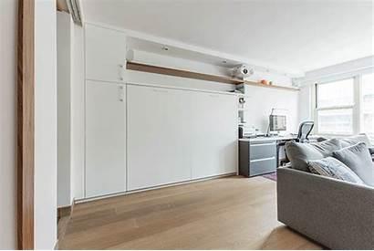 Studio Bed Bedroom Master Dwell Built Wall