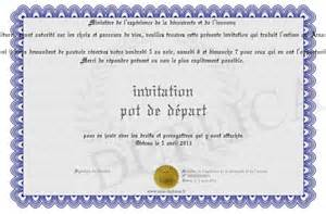 texte invitation pot de depart modele invitation pour un pot de depart en retraite document