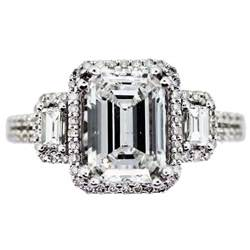 ring designs engagement ring designs emerald cut - Emerald Shape Engagement Rings