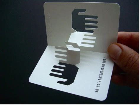 gorgeous examples  folded business card  images