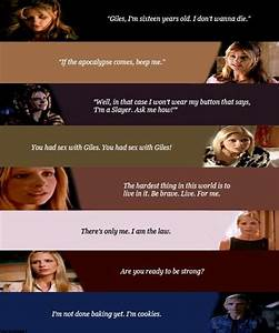 Buffy The Vampi... Joyce Summers Quotes