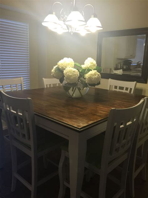 project  complete refinished pub table  black