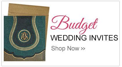 This image displays a sample Indian wedding invitations