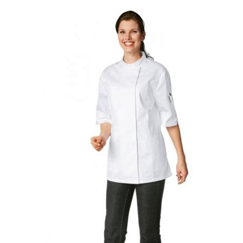 vetement de cuisine bragard veste de cuisine femme manches courtes bragard verana