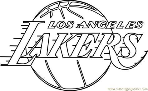 Coloring Pages La Lakers