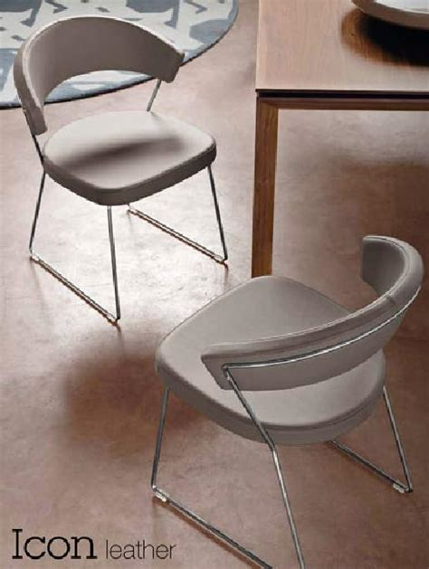 chaises calligaris connubia calligaris york leather cb 1022 lh chair
