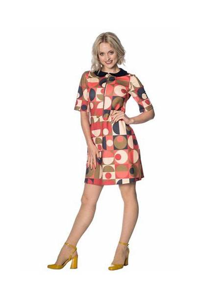 Outfit 1960s Mod Dresses Outfits 60s Geometric