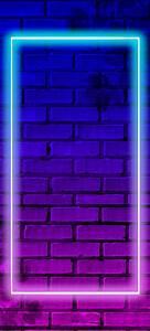 Border, Neon, Wallpaper