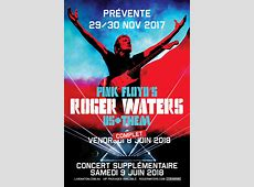 ConcertsMetal Calendar Roger Waters Tour 2018 0906