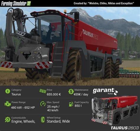 kotte taurus  beta   mod farming simulator
