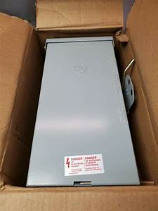 Emergency Power Transfer Switch Non Fused Generator Manual