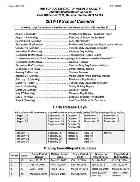 volusia county schools calendar volusia county moms