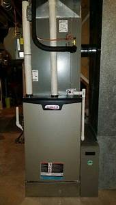 98  Efficient Furnace Installed On A 6 Inch Return Box  Humidifier  Air Cleaner  High Efficiency