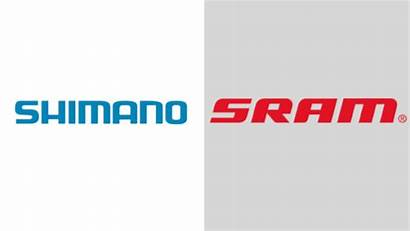 Colors Shimano Sram Logos Bicycle Brand Famous
