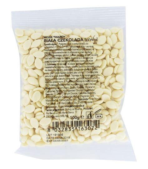 ItalWax plēves vasks, baltā šokolāde (100g) - 4HAIR.LV