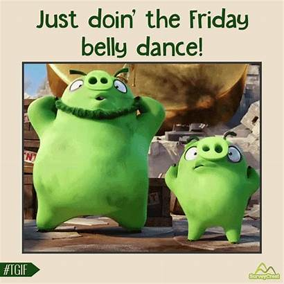 Friday Crazy Dance Funny Nothing Tired Happy
