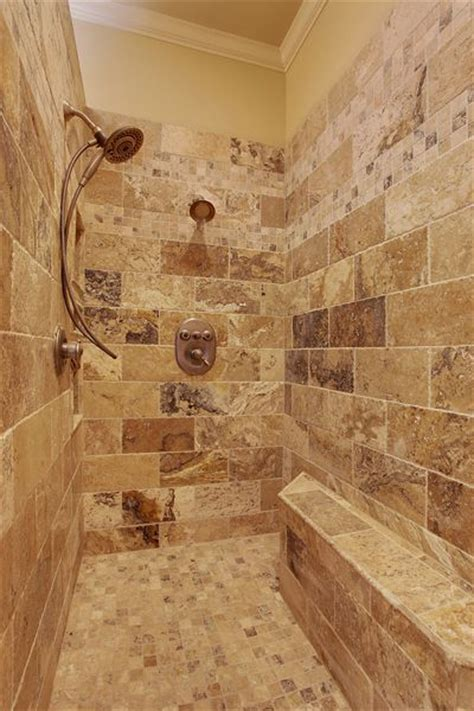 master bath shower ideas  pinterest shower makeover master shower  pebble