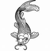 Koi Fish Coloring Pages Male Healthy Sheets Flower Easy Printable Adults Adult Drawings Print Food Japanese Mandala Dragon Disney sketch template
