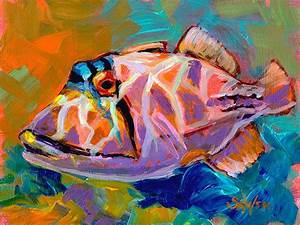 16 best images about Daily Paintings, fish art and other ...
