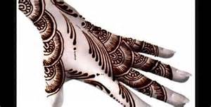 All About Lovely Designs Of Arabian Henna ...