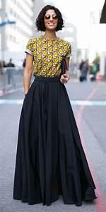 Best 25+ Black maxi skirts ideas on Pinterest   Long black skirt outfit Long skirt outfits and ...