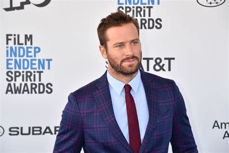 What Armie Hammer Has Said About Cannibal DMs As Actor ...