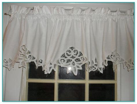 Lace Swag Valance Curtains