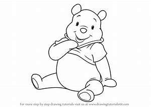 Learn How To Draw Pooh The Bear From Winnie The Pooh