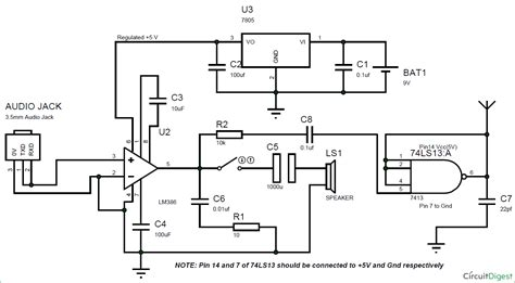 Diy Simple Transmitter Circuit Without Inductor Trimmer