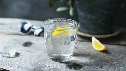 Water Glass Cold Icy Cinemagraph