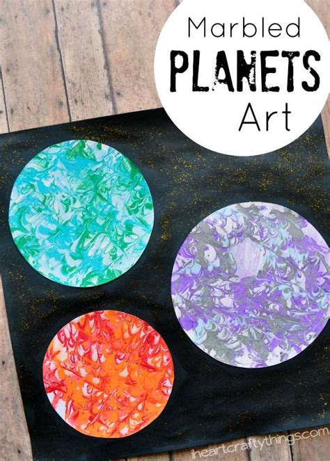 outer space facts for preschoolers preschool space craft marbled planets i 398
