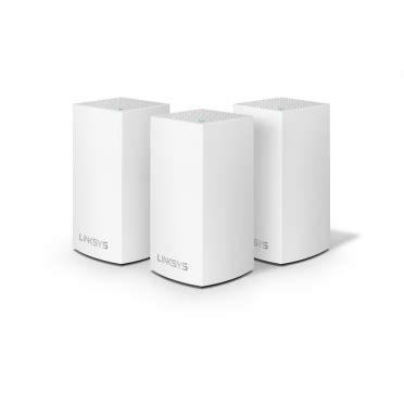 linksys velop intelligent mesh wifi system 3 pack white