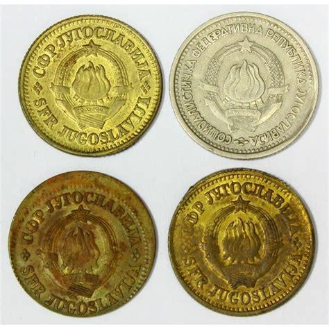 sfr si e social sfr jugoslavija 10 par 1 dinar 1965 1980 kovne napake